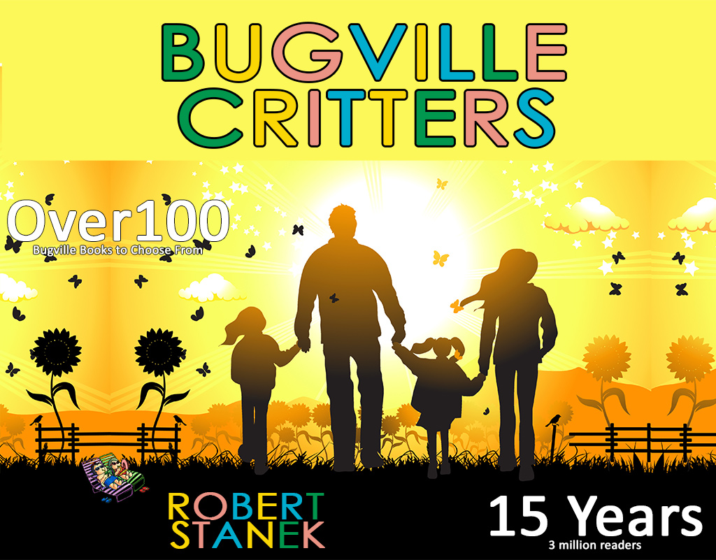 15 years of Bugville Critters by Robert Stanek